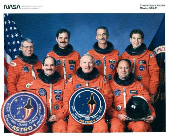 STS-35 crew picture